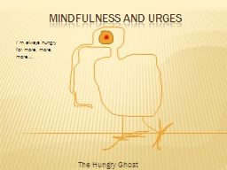 Mindfulness and Urges