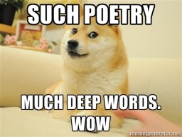 Reading a Poem