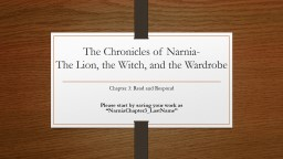 The Chronicles of Narnia-