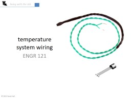 temperature system wiring