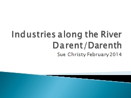 Industries along the River
