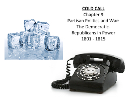 COLD CALL PowerPoint PPT Presentation
