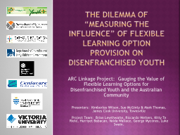 """The dilemma of """"measuring the influence"""" of flexible le"""