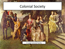 creating tensions in colonial society Chapter 5: colonial society on the eve of revolution, 1700-1775 1  created  stratification upper class culture developed very hierarchical lived simple   well as, england dependency on english culture faded heading for a conflict.