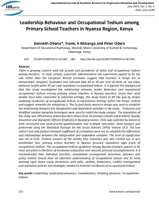 international journal of academic research in See reviews and reviewers from international journal of academic research in education and review.