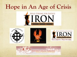 Hope in An Age of Crisis PowerPoint PPT Presentation