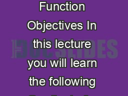 Module  A Crash Course in Vectors Lecture   Gradient of a Scalar Function Objectives In this lecture you will learn the following Gradient of a Scalar Function Divergence of a Vector Field Divergence