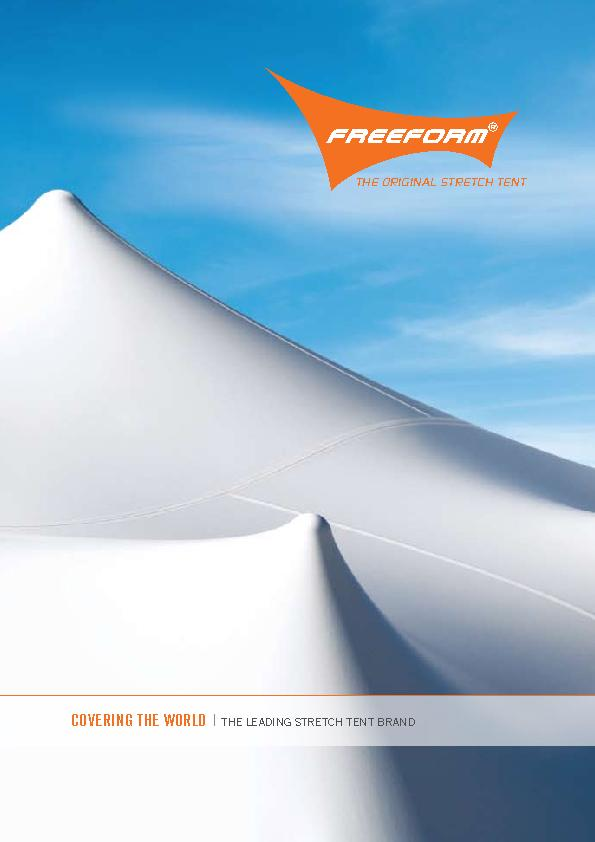 COVERING THE WORLD  |  THE LEADING STRETCH TENT BRAND