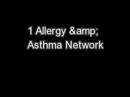 1 Allergy & Asthma Network