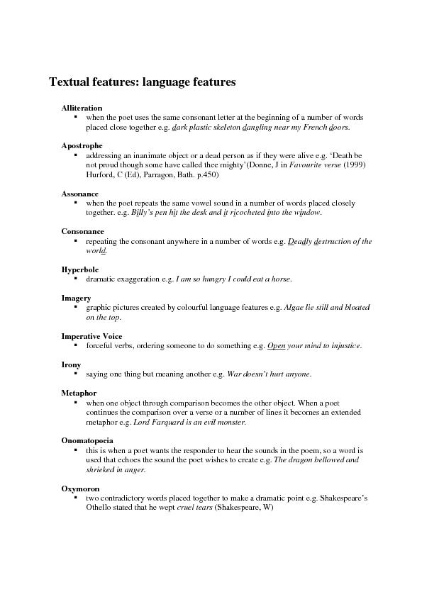 textual form and features Book explains a form of `textual analysis' whereby we attempt to understand the likely interpretations of texts made by if textual analysis involves analysing texts, then ± what exactly is a text answer: whenever we produce an and the variety of ways in which it functions in filipino culture, have no equivalent in english.