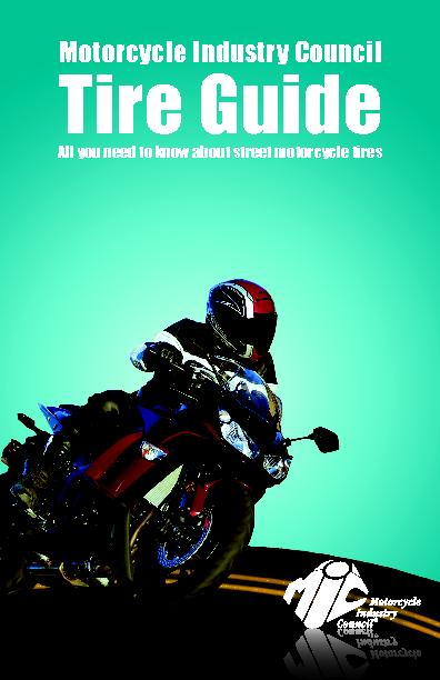 Motorcycle Industry Council Tire Guide