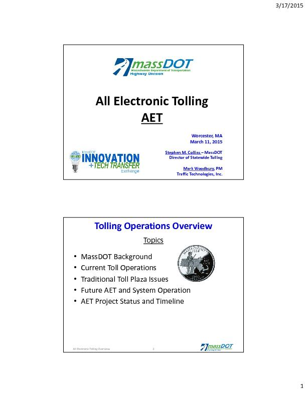 ElectronicTolling
