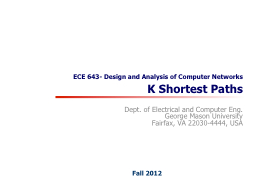 ECE 643- Design and Analysis of Computer Networks