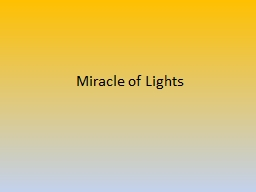 Miracle of Lights