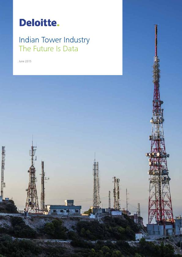 Indian Tower IndustryThe Future Is Data