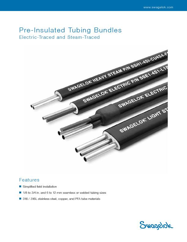 2     Pre-Insulated Tubing Bundles