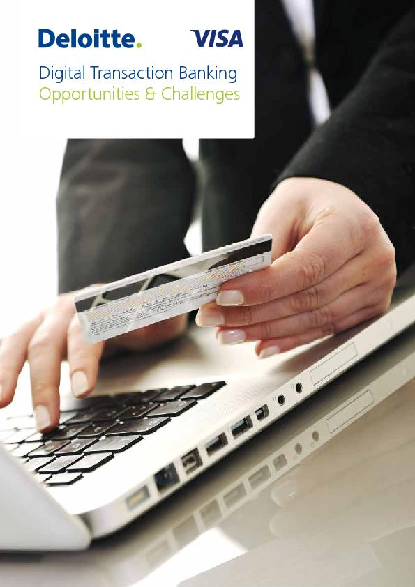 Digital Transaction BankingOpportunities & Challenges