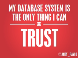 MY DATABASE SYSTEM IS