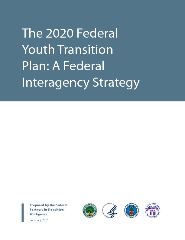 Plan: A FederInteragency StrategyPrepared by the Federal Partners in T PowerPoint PPT Presentation