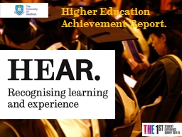 Higher Education PowerPoint PPT Presentation