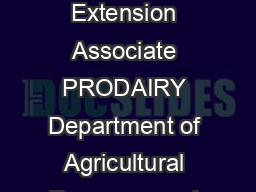 Culling Rates and Profit Is there a Management Issue Jason Karszes Senior Extension Associate PRODAIRY Department of Agricultural Resource and Managerial Economics Cornell University Culling rates ha