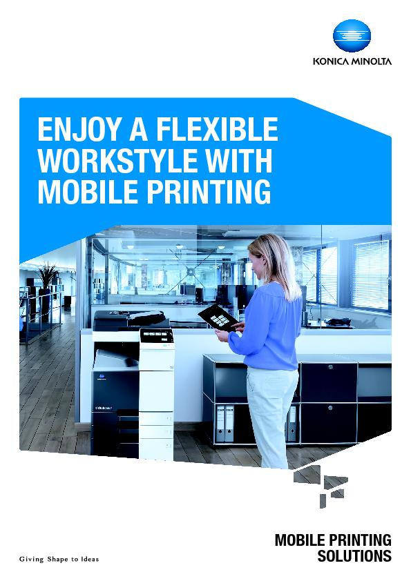 MOBILE PRINTING PowerPoint PPT Presentation