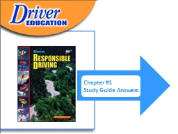 CHAPTER 1  Driving and Mobility