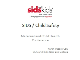 SIDS / Child Safety