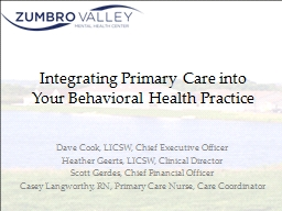 Integrating Primary Care into Your Behavioral Health Practi