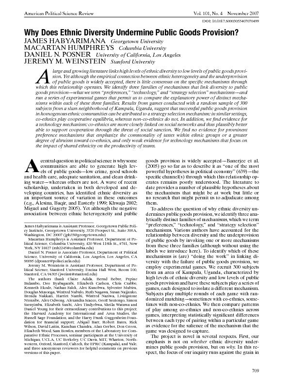 AmericanPoliticalScienceReviewVol.101,No.4November2007