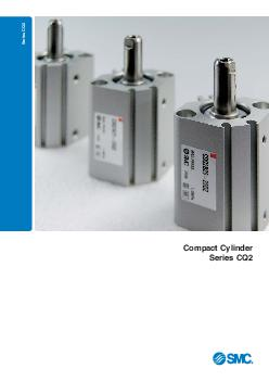 Series CQ Compact Cylinder Series CQ  Reduce the size and improve your machines performance with the worlds most exible compact cylinder range from SMC Small is de nitely the new big Gain competive a