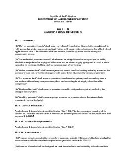 Republic of the Philippines DEPARTMENT OF LABOR AND EMPLOYMENT   RULE