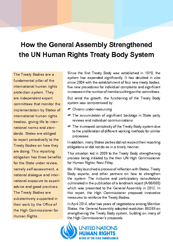 How the General Assembly Strengthened