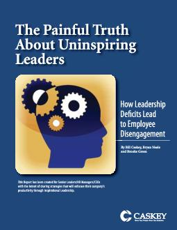 THE PAINFUL TRUTH ABOUT UNINSPIRING LEADERSWHITE PAPERTHE PAINFUL TRUT