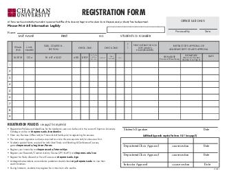 REGISTRATION FORM Please Print All Information Legibly Name  LAST NAME FIRST M