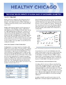 Research findings on price elasticity and youth smoking be-