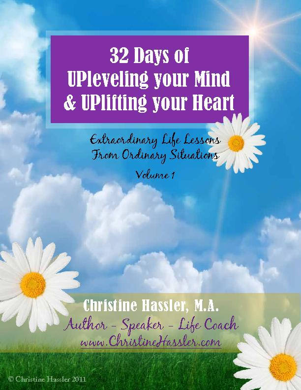 My intention is for it to be a catalyst for a daily UPleveling of your