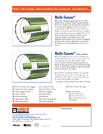 Quality Since  SlideLag SlideLag REPLACEABLE Pulley Lagging for Drive Pulleys Superior Traction for Conveyor and Elevator Systems Brochure PL   Replaces PL   Quality  Value  Service An original HOL