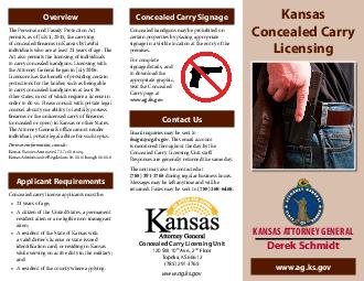 Application Procedures Must complete an hour weapons safety and training course and obtain a certicate of completion from a certied trainer