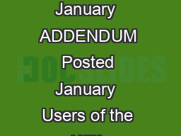 January  Page IATA Dangerous Goods Regulations th Edition English Effective  January  ADDENDUM Posted January  Users of the IATA Dangerous Goods Regulations are asked to note the following amendment