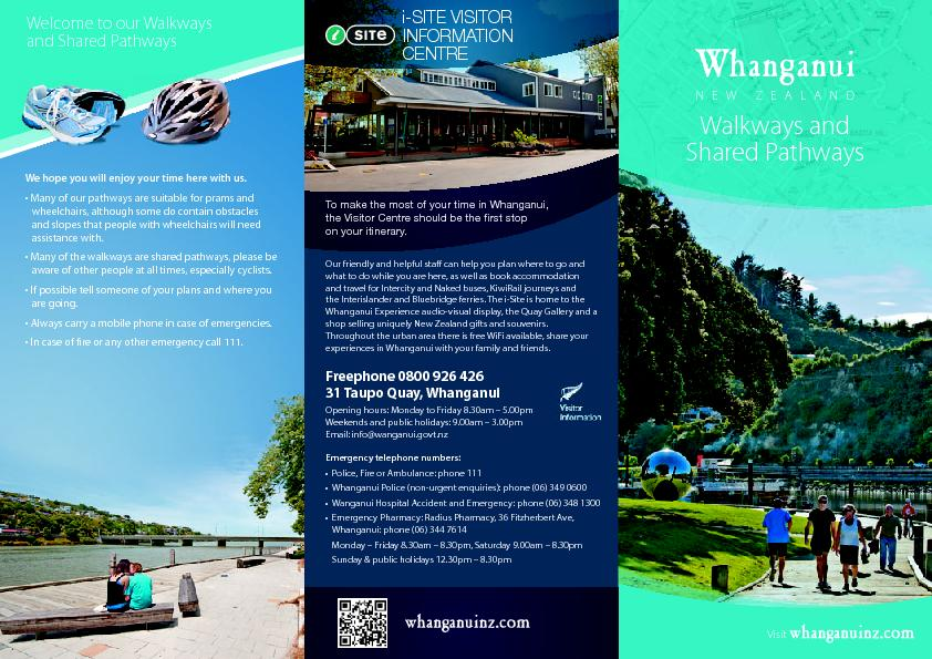 Walkways andShared PathwaysNEW ZEALANDWhanganui PowerPoint PPT Presentation