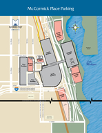 Michael Reese Hospital Campus  Medical Center AREA BETWEEN TH AND ST STREETS COMPRESSED TO FIT PAGE Northerly Island Mercy Hospital I Stevensons Expressway Northbound I Stevensons Expressway Southbou
