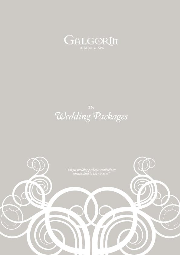 "TheWedding Packages""unique wedding packages available onselected"