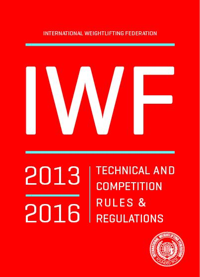 Approved by the IWF Congress – Baku