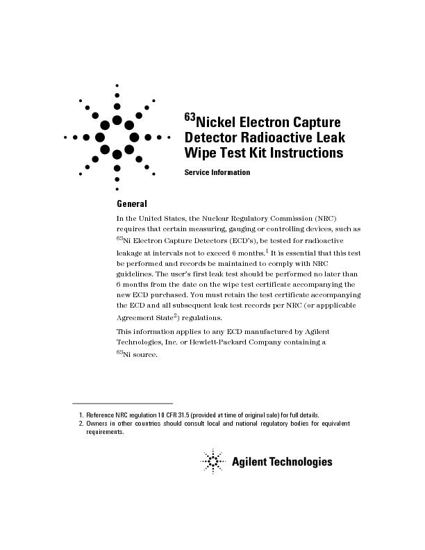 GeneralIn the United States, the Nuclear Regulatory Commission (NRC) r