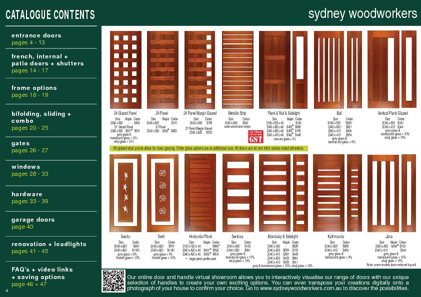 All glazed door prices allow for clear glazing. Other glass options ar PowerPoint PPT Presentation