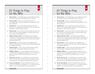 Things to Pray for My Wife  Things to Pray for My Wife God be her God  her allsatisfying treasure and all