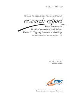 Standard Title Page - Report on Federally Funded Project 1. Report No.