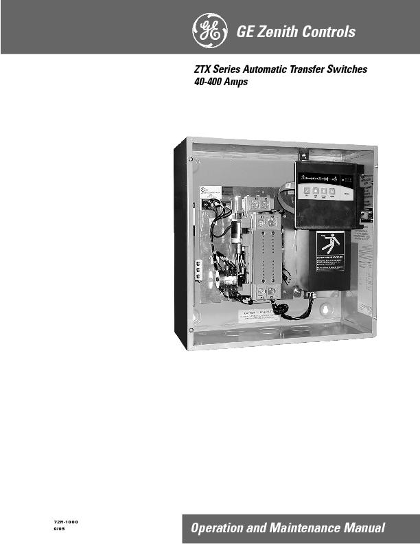 XSeries Automatic Transfer Switches