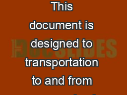 Camper Transportation Information  Busses Cars and Planes This document is designed to transportation to and from camp and ask for an alternate pick up person